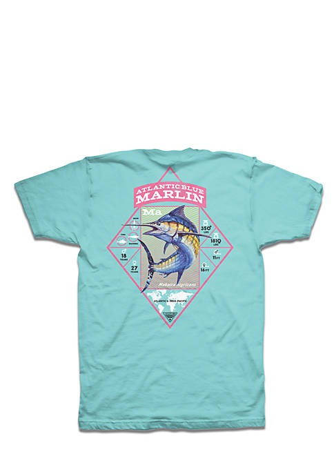 Columbia PFG Marlin Stats Diamond Tee