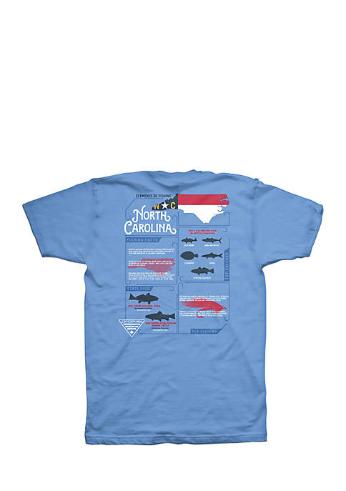 Short Sleeve PFG Elements NC Graphic Tee