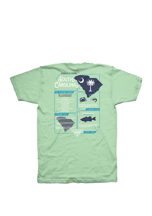 Columbia Short Sleeve PFG Elements SC Graphic T-Shirt