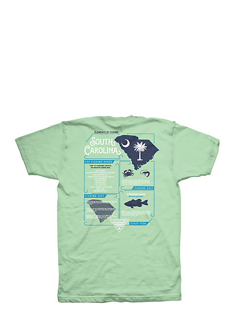 Columbia Short Sleeve PFG Elements SC Graphic Tee