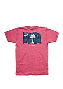 Columbia Short Sleeve PFG SC State Flag Tee