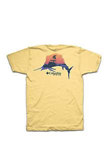 Short Sleeve PFG Photo Sailfish Shirt