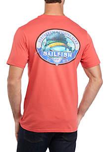 Columbia Men's Short Sleeve PFG Sailfish T-Shirt