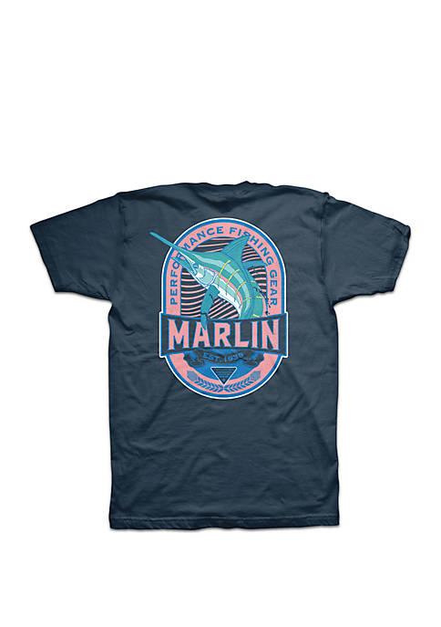 Columbia Short Sleeve PFG Marlin Circle T Shirt
