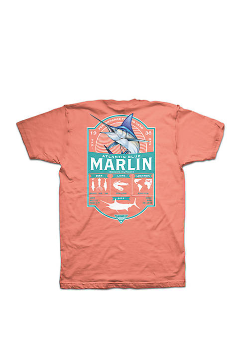 Columbia Short Sleeve PFG Marlin Elements Update T