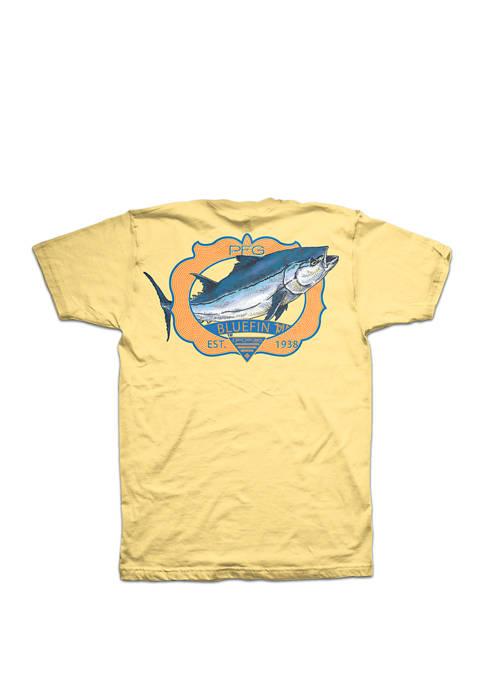 Columbia Short Sleeve Bluefin Tuna T Shirt