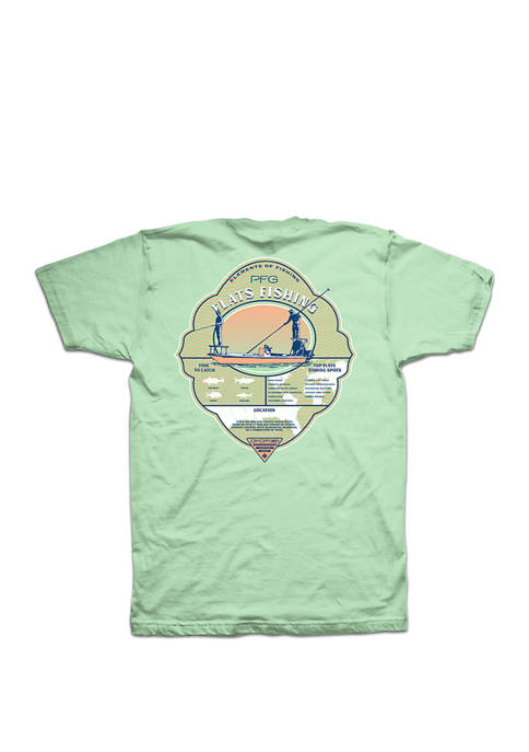 Short Sleeve PFG Flats Fishing Elements T Shirt