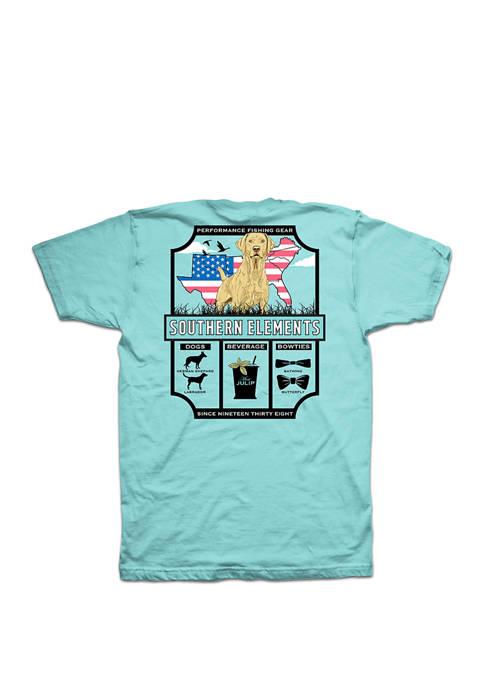 Columbia Short Sleeve PFG Southern Elements T Shirt