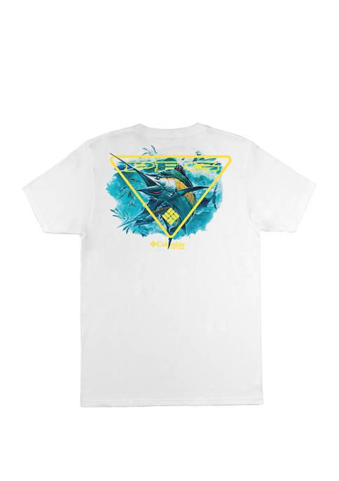 Columbia Dash Casual Screen Graphic T-Shirt