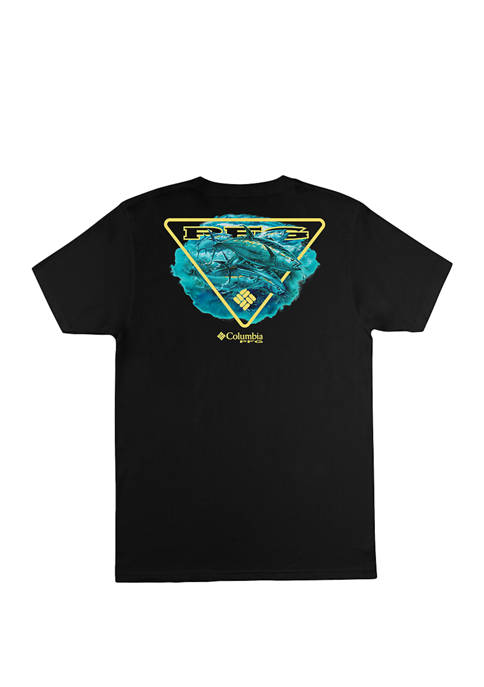 Columbia Short Sleeve Casual Graphic T-Shirt