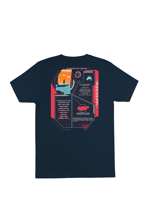 Columbia Mississippi Elements Graphic T-Shirt