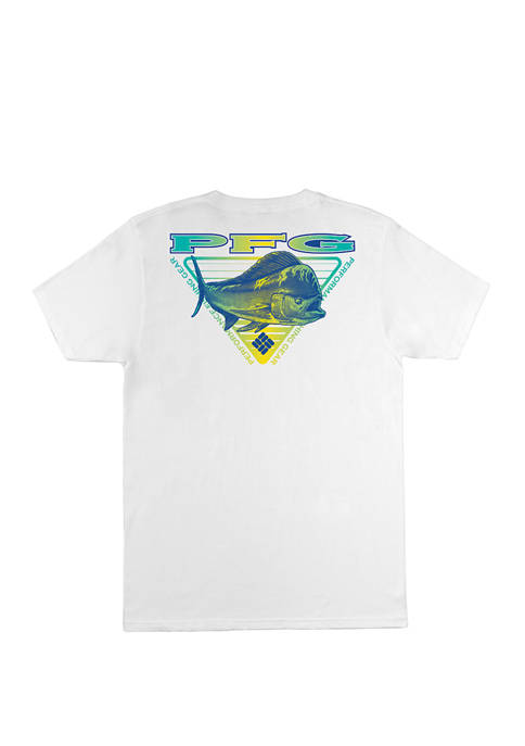 Columbia Casual Short Sleeve Graphic T-Shirt