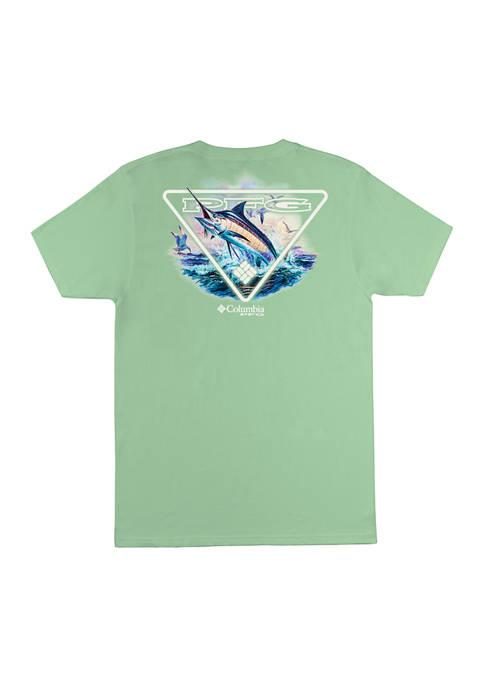 Columbia Short Sleeve Fish Graphic T-Shirt
