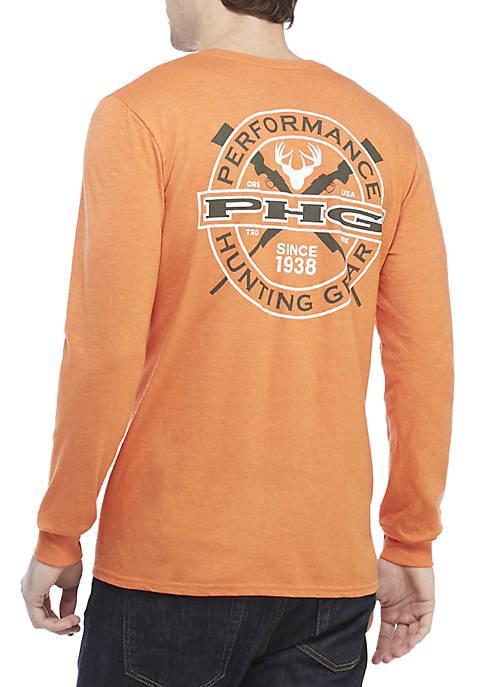 Columbia Rifle Logo Screenprint Long Sleeve Shirt  665bddc689