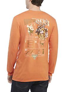 Long Sleeve PHG Whitetail Deer Elements T-Shirt