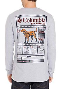 Long Sleeve PHG Screen Print T-Shirt