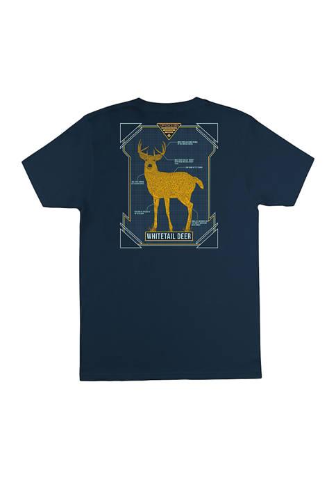 Columbia Big & Tall PHG Short Sleeve Deer