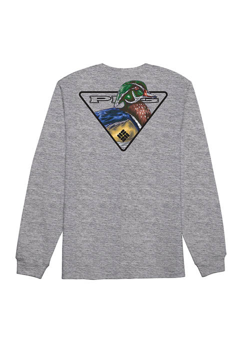 Columbia Long Sleeve PHG Wood Duck Shirt