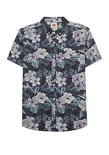Levi's® Lembert Short Sleeve Woven Button Down Shirt