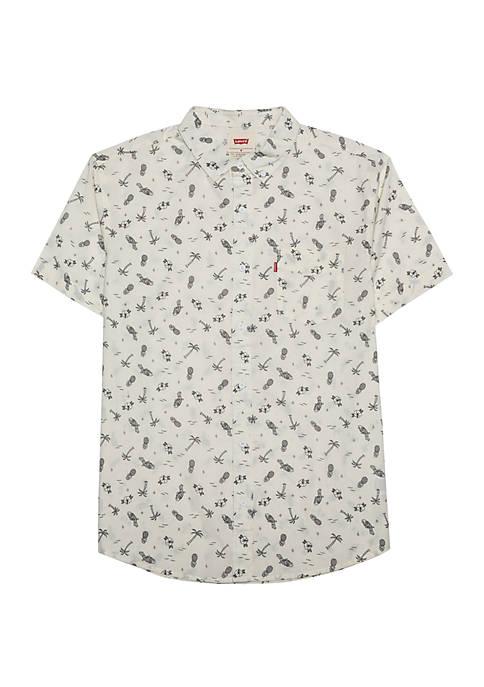 Levi's® Gannet Short Sleeve Woven Shirt
