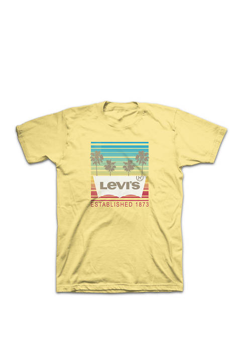 Levi's® Short Sleeve Palm Tree Graphic T-Shirt