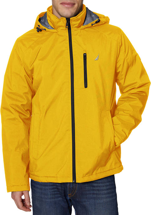 Nautica Poly Stretch Mid Weight Parka with Hood
