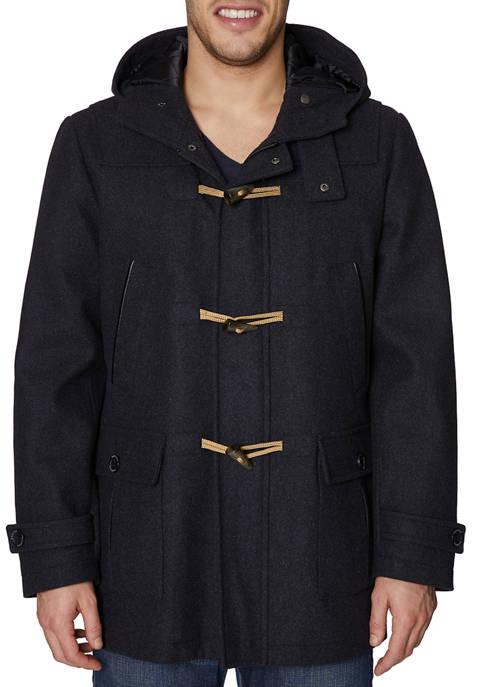 Wool Toggle Hood Jacket