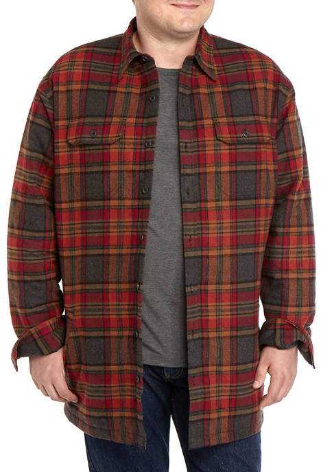 Big & Tall Quilted Lined Jacket
