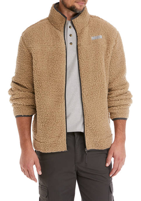 Ocean & Coast Men's Full Sherpa Jacket