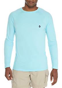 Long Sleeve Rashguard Crew Neck Shirt