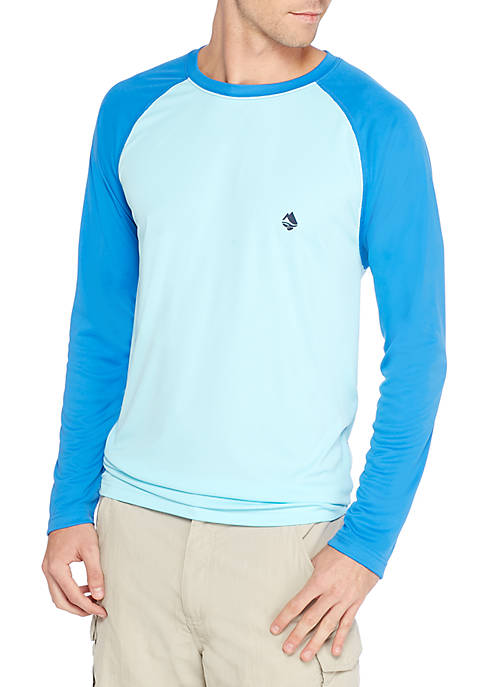 Ocean & Coast® Long Sleeve Blocked Swim Rash