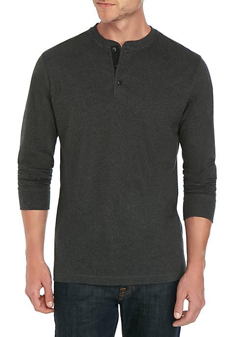 Ocean & Coast® Long Sleeve Jasper Henley Shirt