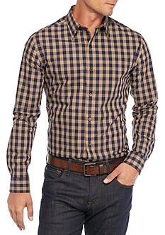 Saddlebred® 1888 Long Sleeve Non Iron Medium Gingham Shirt