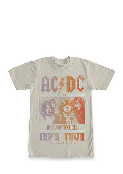 Fifth Sun™ ACDC Highway To Hell Graphic Tee