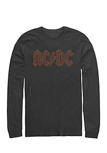 Long Sleeve AC/DC Those About To Rock Tee