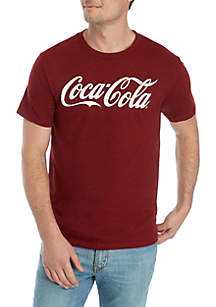 Fifth Sun™ Coca Cola Stitched T Shirt