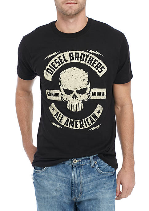 Wholesale Fifth Sun Diesel Brothers All American Short Sleeve Tee for cheap