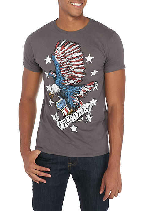 Fifth Sun™ Freedom Eagle And Stars Tee Shirt