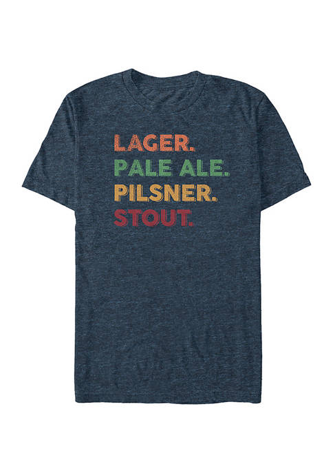 Fifth Sun™ Beer List Graphic T-Shirt
