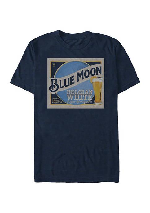 Fifth Sun™ Blue Moon Square Logo Graphic T-Shirt