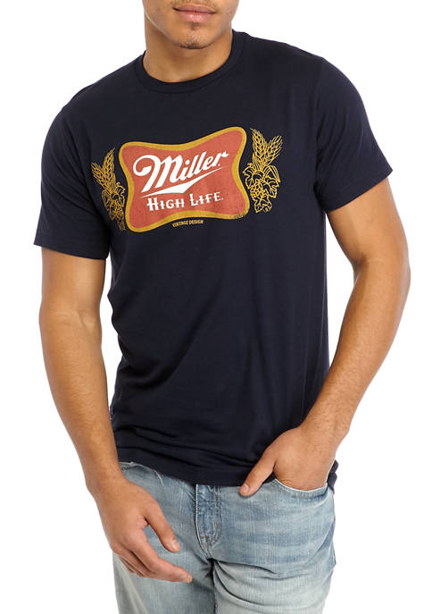 Fifth Sun™ Short Sleeve Miller High Life Graphic