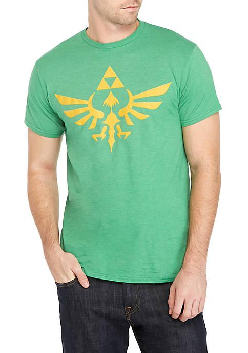 Fifth Sun™ Zelda Triumphant Triforce Short Sleeve Shirt