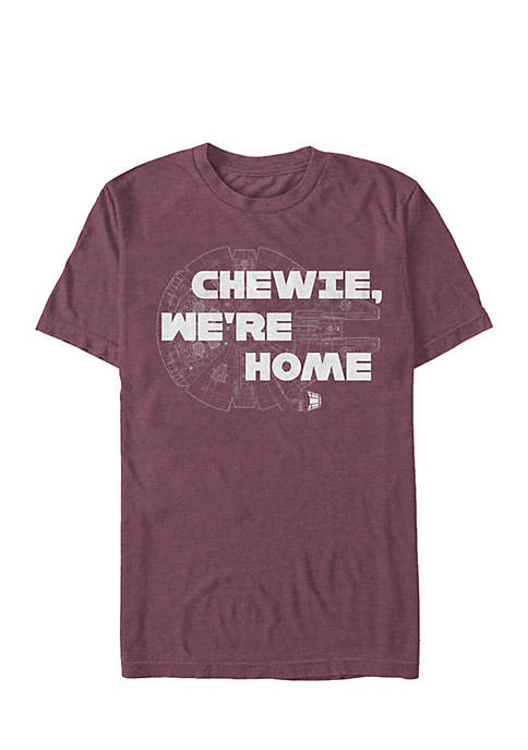 Hot Fifth Sun Chewie We're Home Tee free shipping