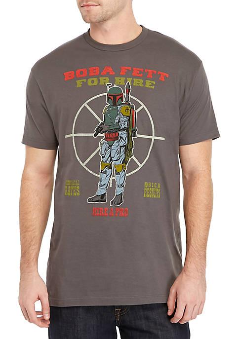 Boba Fett For Hire Short Sleeve T-Shirt