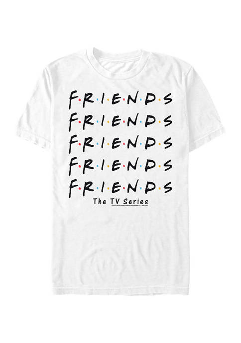 Fifth Sun™ F.R.I.E.N.D.S Pile Graphic T-Shirt