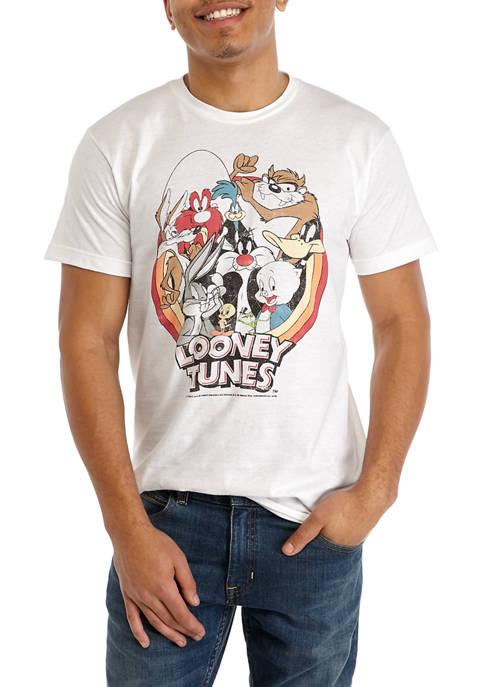 Fifth Sun™ Short Sleeve Looney Tunes Graphic T-Shirt