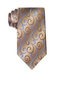Swirly Vines Tie