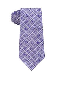 Angus Grid Necktie