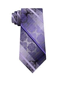 Ombre Medallion Stripe Tie