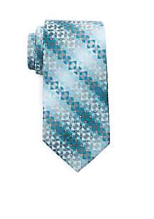 Christian Geometric Print Necktie